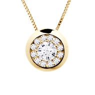 Collier Diamant - Or Jaune 18 Carats