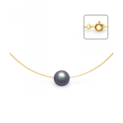 collier perle noire histoire d'or