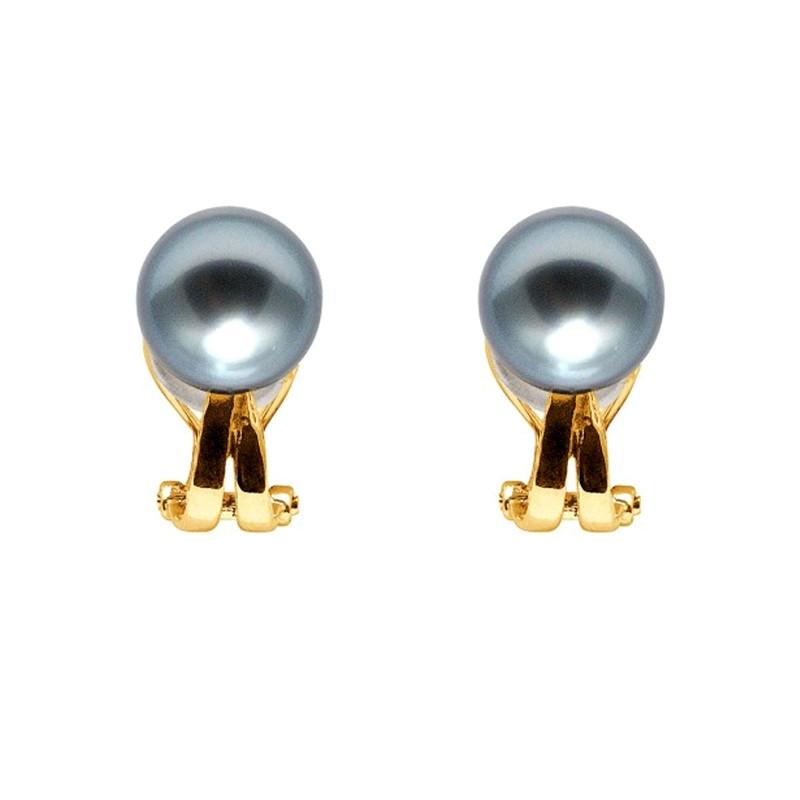 boucles d'oreilles perles clips