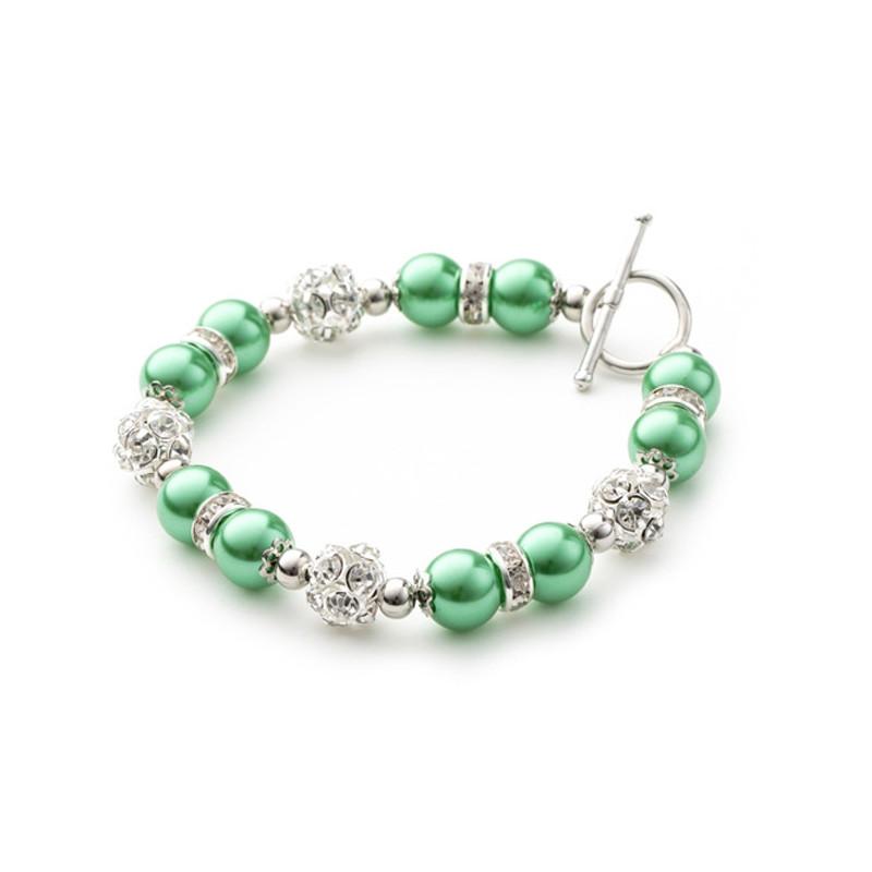 idée cadeau Fêtes. 2 rangs vert Bracelet en jade