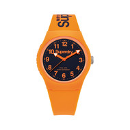 Montre Superdry Urban et Bracelet en Silicone Orange
