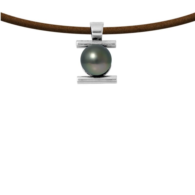 perle de culture collier homme