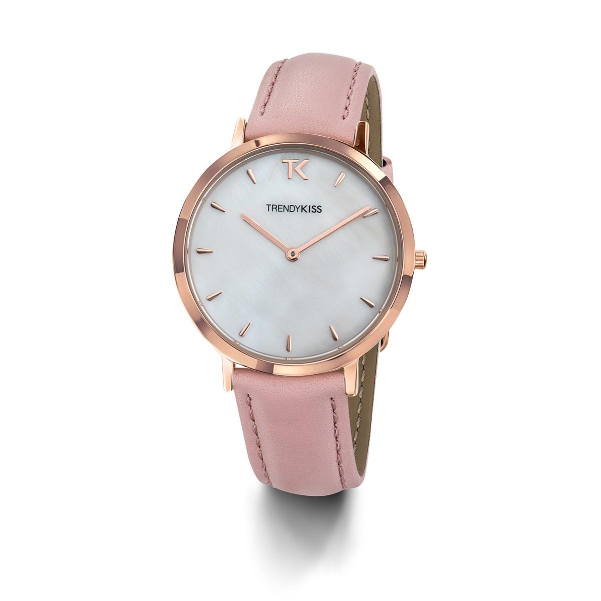 c38a39e601 Montre femme Trendy Kiss Lovisa bracelet cuir véritable - Femme ...