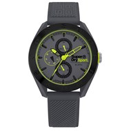 Montre homme analogique bracelet silicone multifonctions Osaka Military