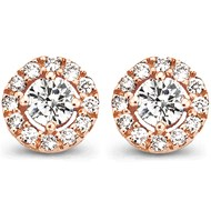 Boucles d'oreilles One More diamants or 750/1000