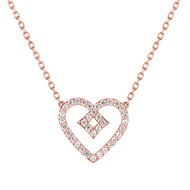 Collier Brillaxis Beguin or rose