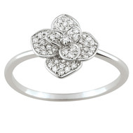 Bague Brillaxis fleur de diamants (BRILLAXIS)