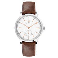 Montre Pierre Lannier cuir marron 215K104