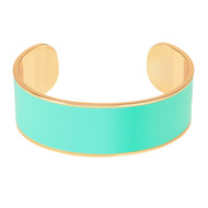 Bracelet jonc Bangle Up Bleu Pool 2 cm (Bangle Up)