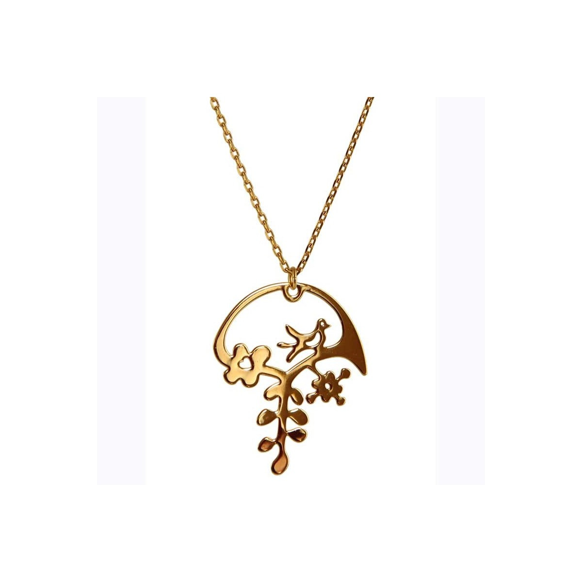 collier femme or 24 carats