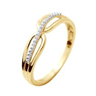 Bague Joaillerie Prestige - Diamants Or Jaune
