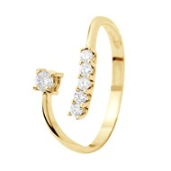 Bague Joaillerie Prestige - Diamants  - Or Jaune