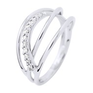 Bague Joaillerie Prestige - Diamants - Or Blanc