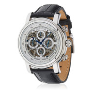Montre Skeleton Automatique et Bracelet en cuir Louis Cottier