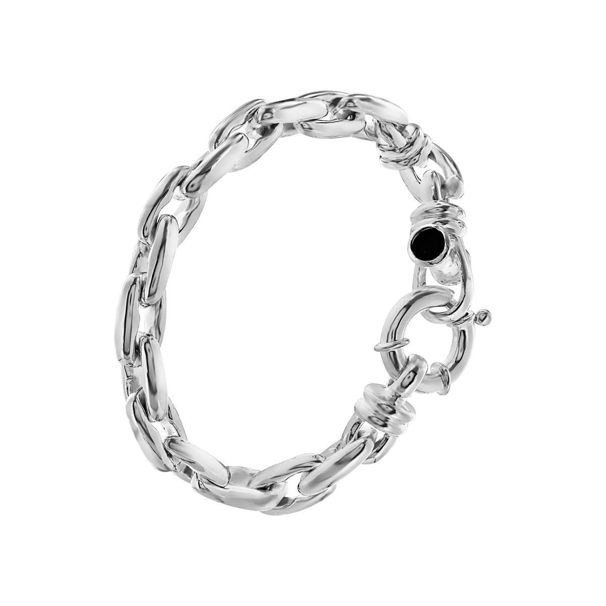 fermoir bracelet argent
