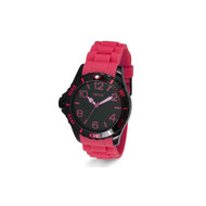Montre Yema en Silicone Homme Rose