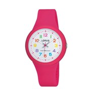 Montre Lorus en Silicone Fille Rose