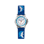 Montre Trendy Kiddy en Nylon Enfant Bleu
