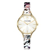 Montre Trendy Kiss en Cuir Femme Multicolore