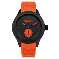 Montre Superdry en Silicone Homme Orange