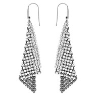 Boucles d'oreilles Swarovski Fit Silver Shade