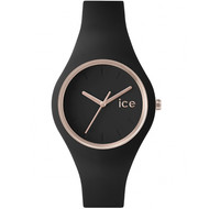 Montre femme Ice Watch Ice-glam black rose-gold small