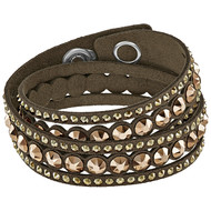 Bracelet Swarovski Slake Dot Brown
