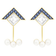 Boucles d'oreilles Swarovski Golden ''Ear-Jacket''