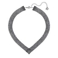 Collier Swarovski Fit gris
