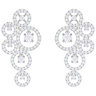 Boucles d'oreilles Swarovski Creativity medium