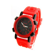 Montre Homme SILICHOMME Silicone Rouge
