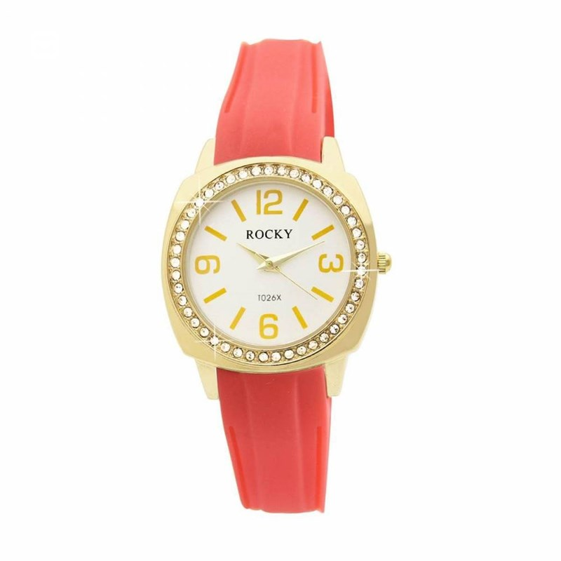 Montre Femme ROCKY Silicone Rose - vue 1