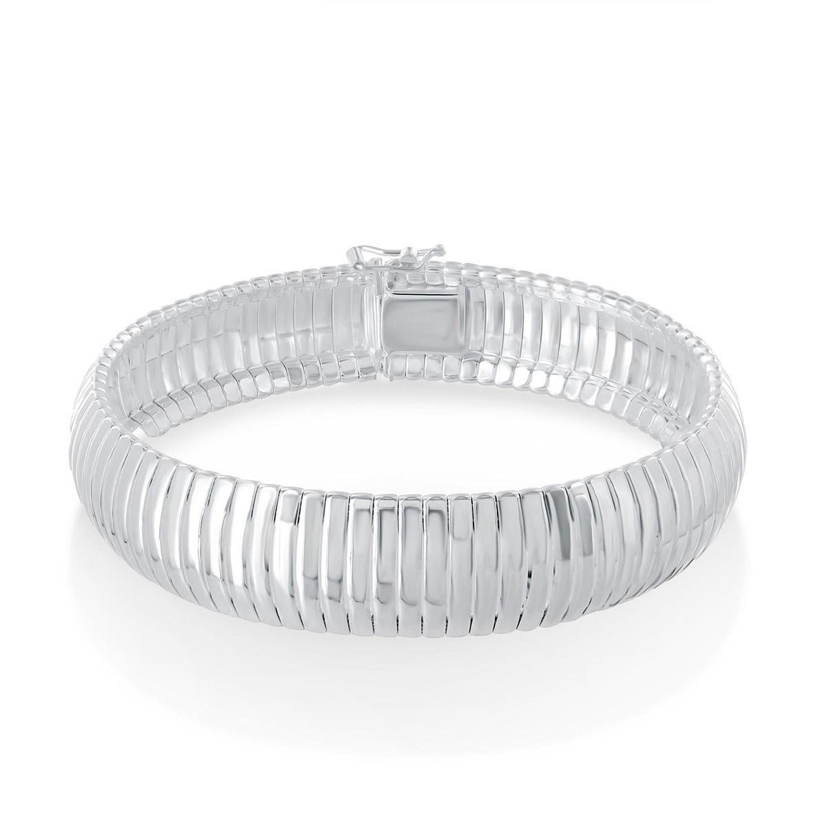 bracelet argent serpent
