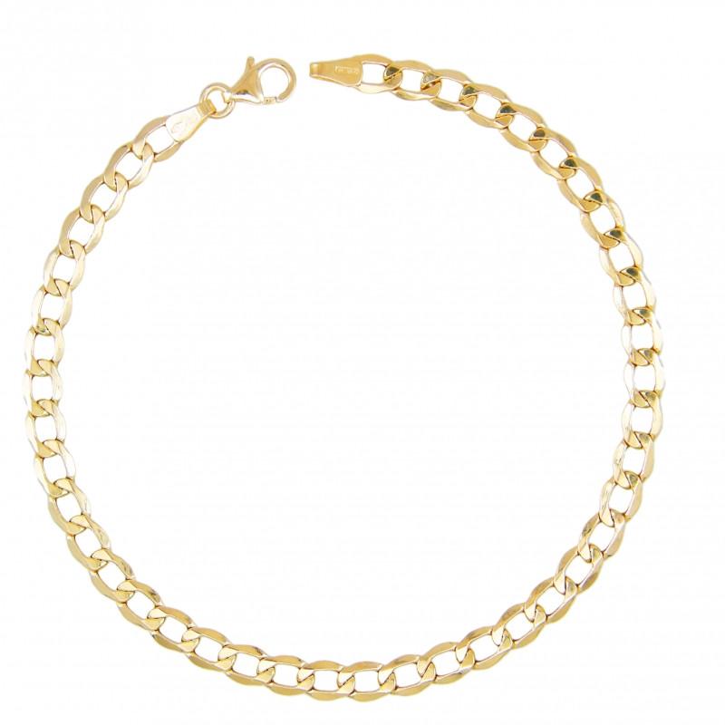 pas cher pour réduction 8d9cf 41203 Bracelet Homme Maille Gourmette - Or Jaune