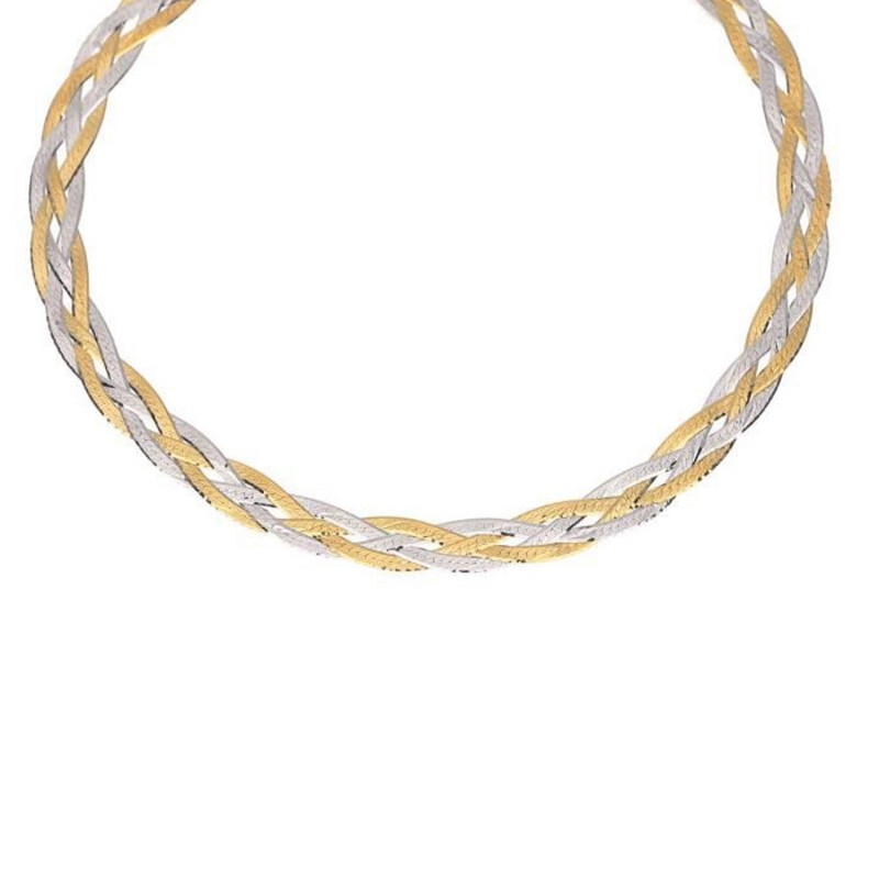 maille collier femme