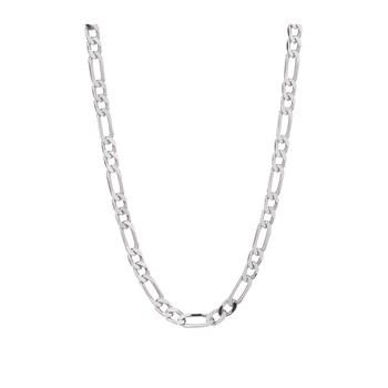 collier chaine acier homme