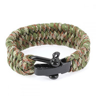 Bracelet paracorde manille, Camouflage