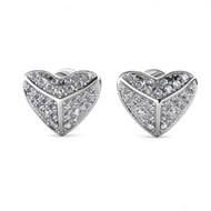 Boucles d'oreilles Shield Heart