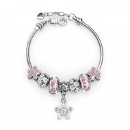 Bracelet Enchanted Flower Charm