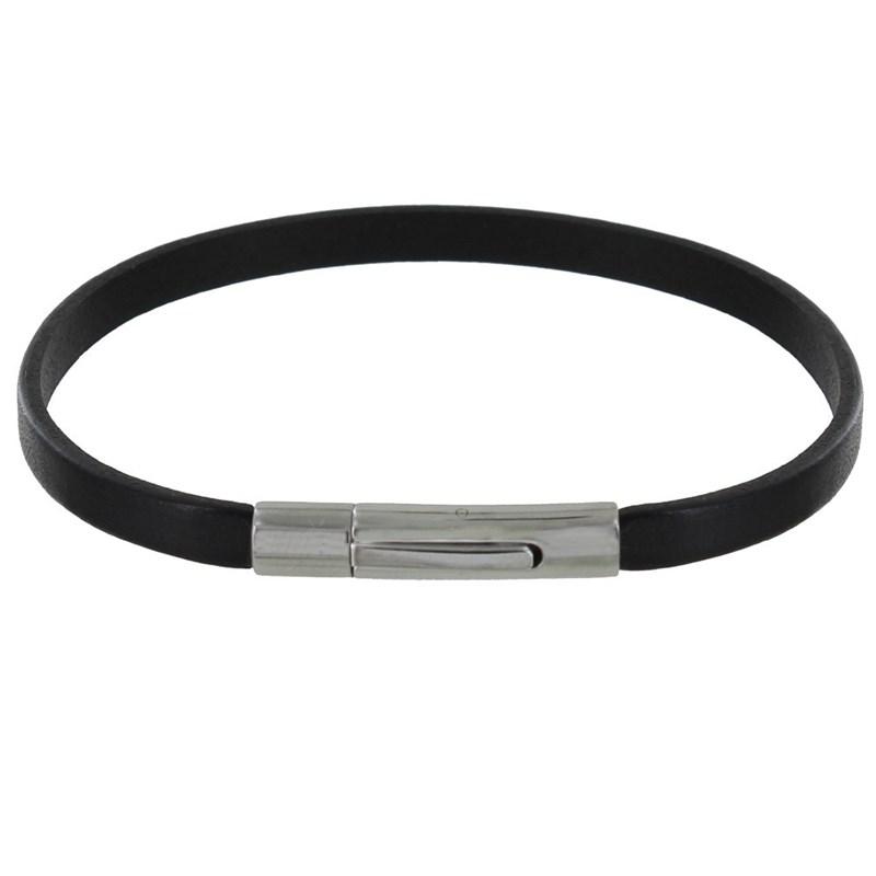 bracelet cuir noire