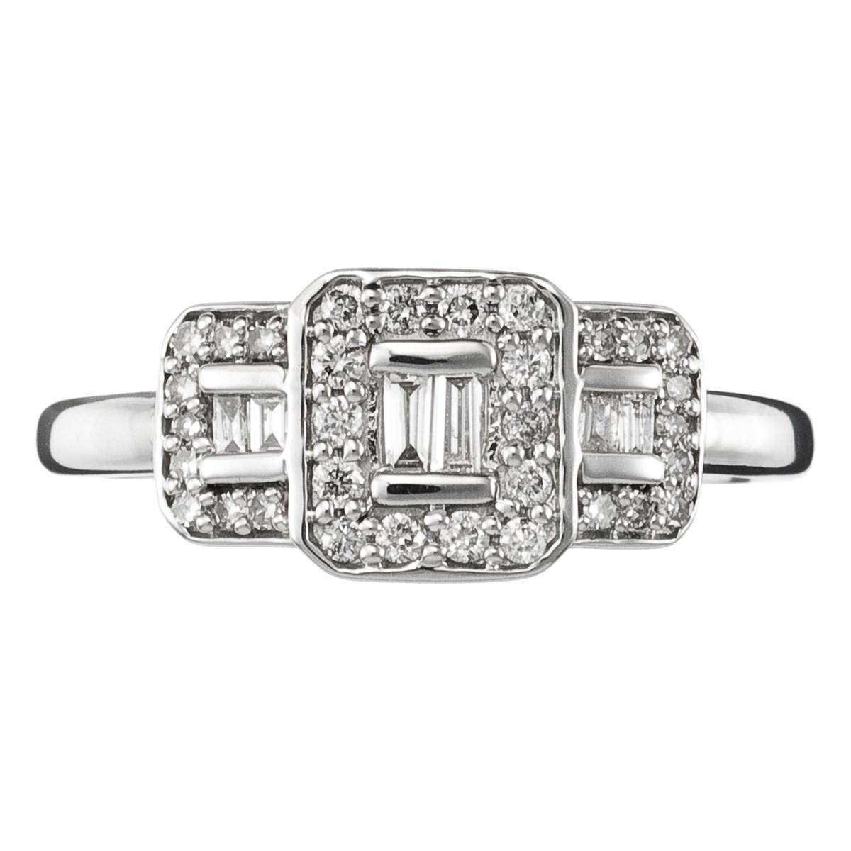 bague diamant 0 25