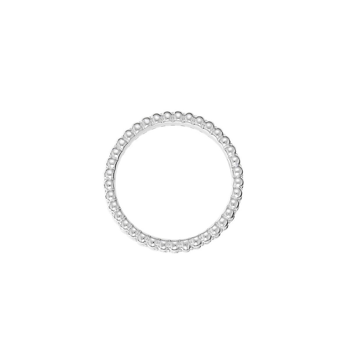 b50c87751 Bague argent et oxydes de zirconium Délicate Harmonie