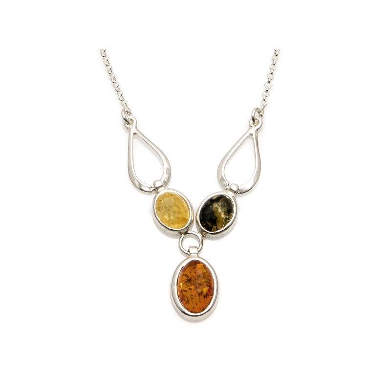 collier ambre baltique femme