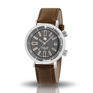 Montre Lip Nautic Ski automatique marron