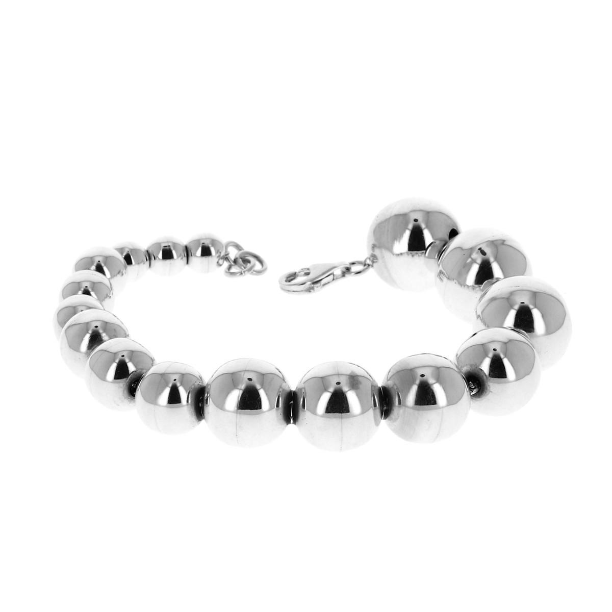 bracelet argent boules