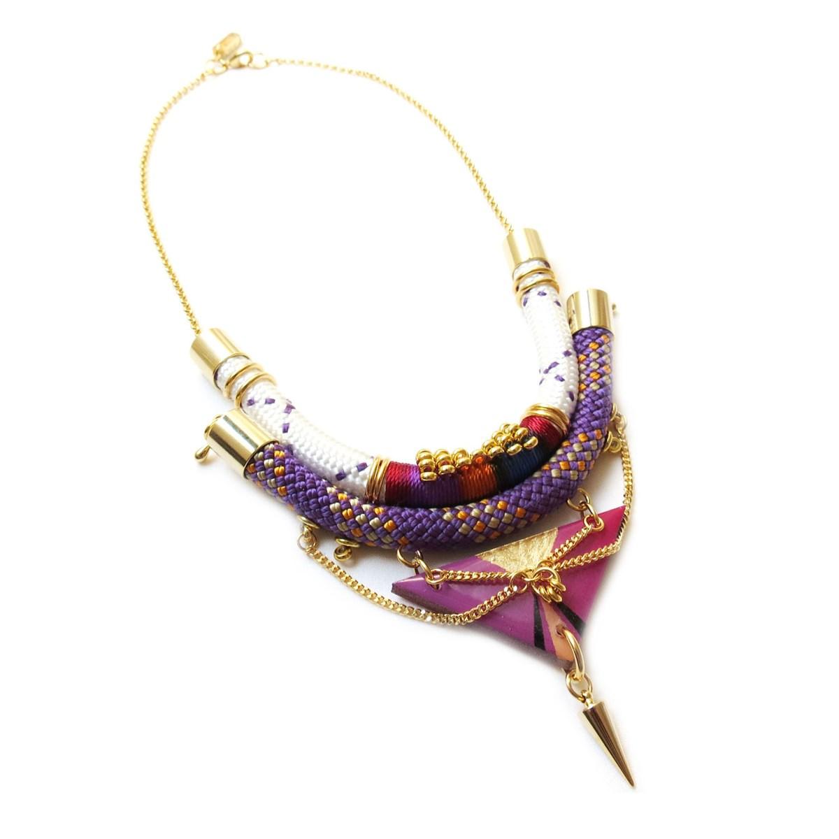 grand choix de achat original brillance des couleurs Collier ethnique EIRA - Celine H2o
