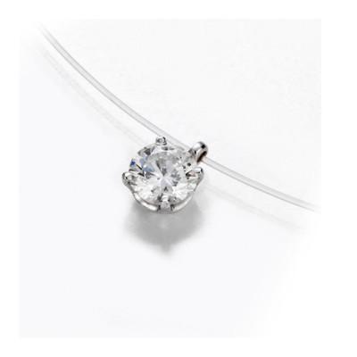collier diamant fil transparent histoire d'or
