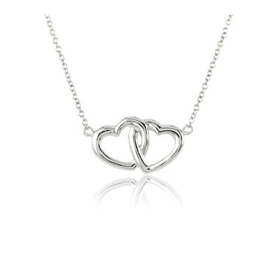 maty collier argent coeur