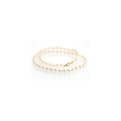 collier perle jaune maternelle