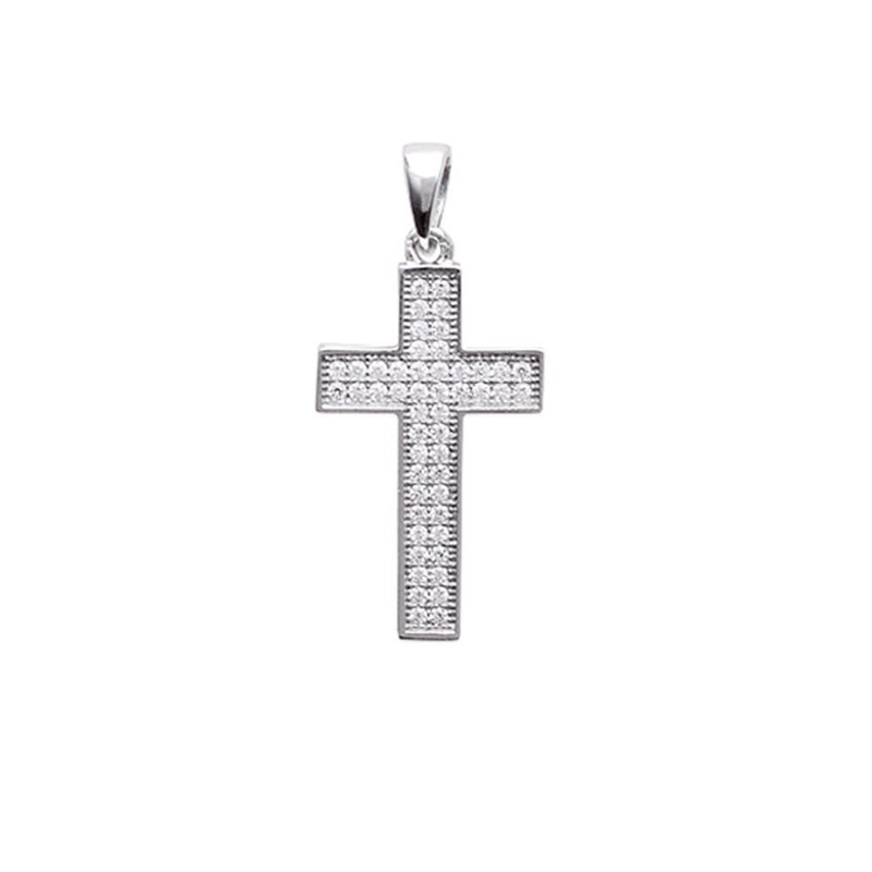 Croix Pendentif Collier In Season Jewelry Enfants Argent 925//1000-40 cm